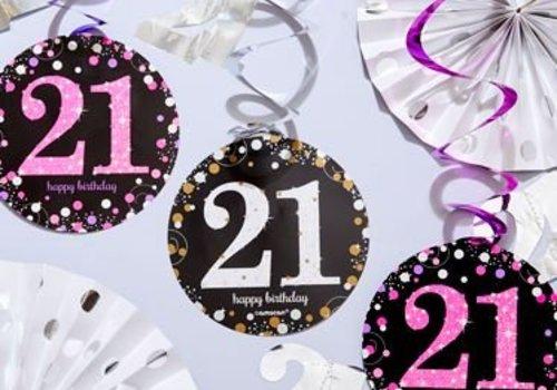 21 Jaar feestartikelen