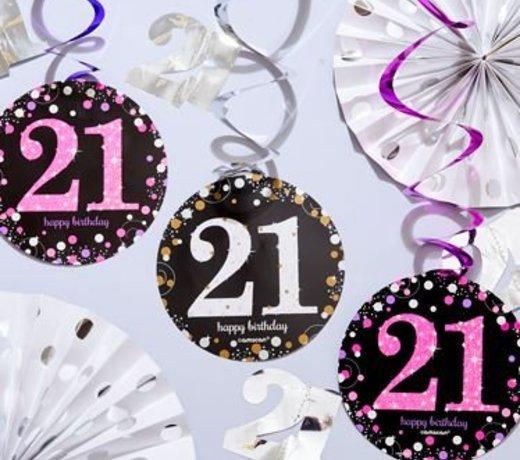 21 Jaar feestartikelen & versiering