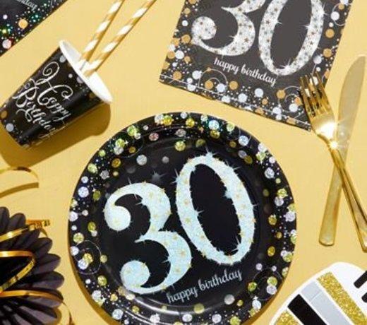 30 Jaar feestartikelen & versiering