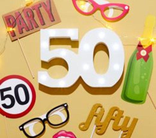 50 Jaar Feestartikelen & versiering