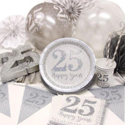 25 jaar getrouwd feestartikelen & versiering