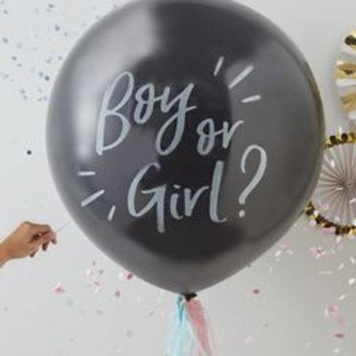 Gender Reveal Babyshower feestartikelen & versiering