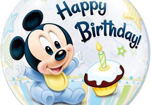 Baby Mickey mouse feestartikelen