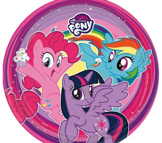 My little pony feestartikelen & versiering