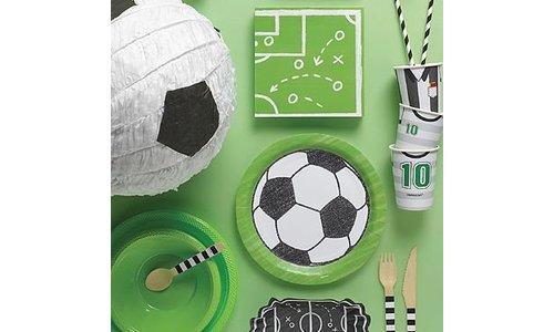 Voetbal party feestartikelen