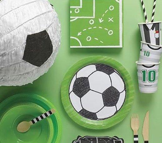 Voetbal feestartikelen en versiering