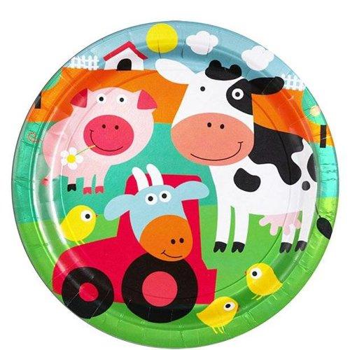 boerderij feestartikelen,een uniek feest thema met boerderij dieren en voertuigen.