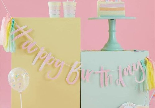 Pastel Party feestartikelen