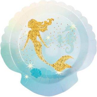 Mermaid metallic borden