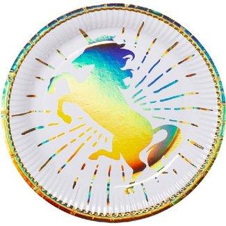 Unicorn metallic borden