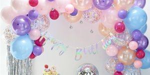 Ballonnen boog tijdens jouw feestje?