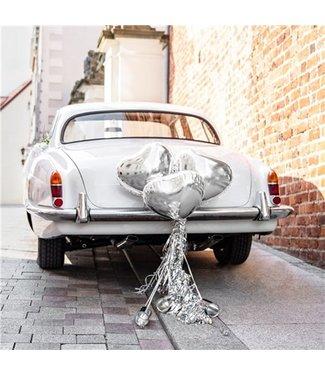 Huwelijk auto decoratie set