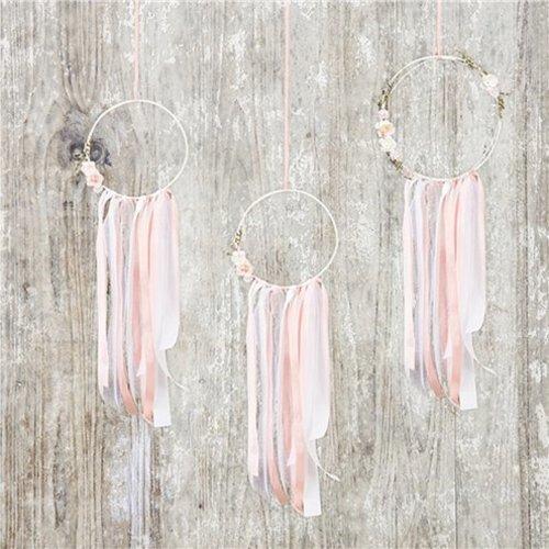 Dromen vanger pastel roze