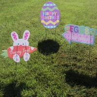 Paas eieren zoeken