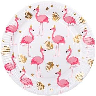 Flamingo borden roze