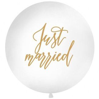 Just married XL ballon