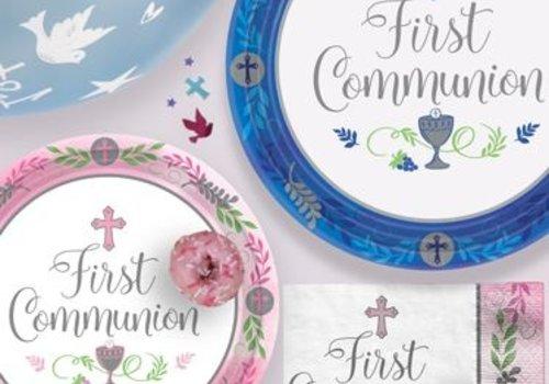 Communie blauw feestartikelen