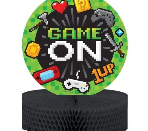 Game on  feestartikelen en versiering