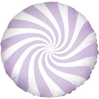 Candy swirl lila ballon