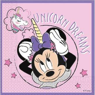 Minnie mouse unicorn servetten