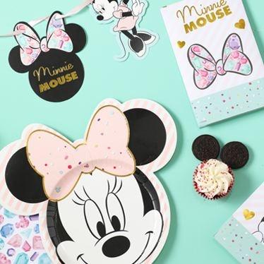 Minnie mouse pastel feestartikelen