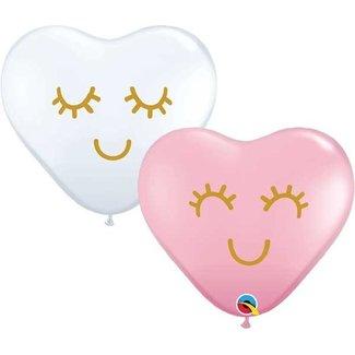 Unicorn lashes ballonnen