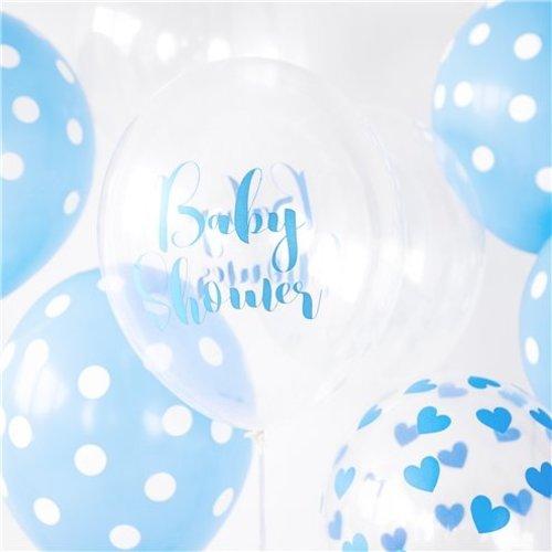 Babyshower ballonnen blauw