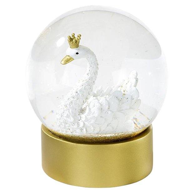 zwaan sneeuwbol