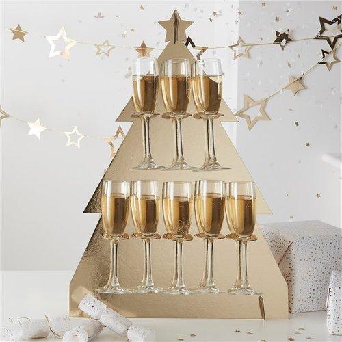 Kerst metallic versiering & decoratie