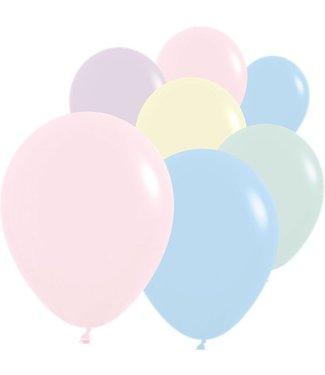 Pastel mat ballonnen