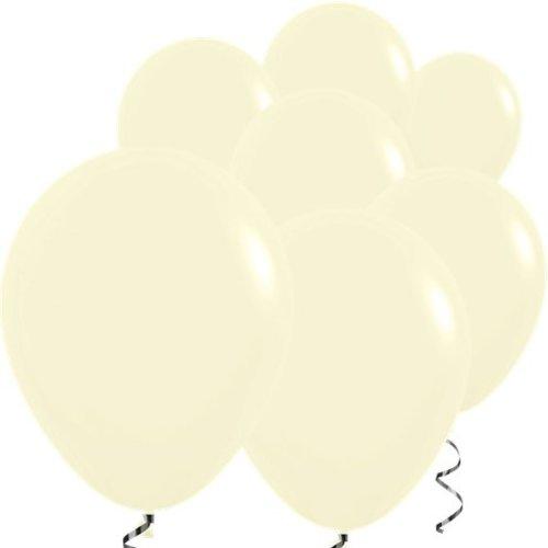 Pastel mat gele ballonnen