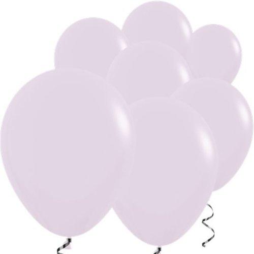 mat  lila ballonnen
