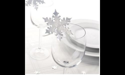 Sneeuwvlok feestartikelen