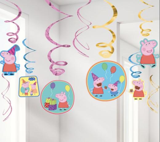 Peppa pig feestartikelen & versiering
