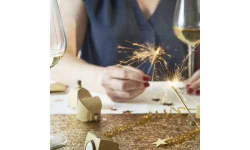 Kerst goud feestartikelen