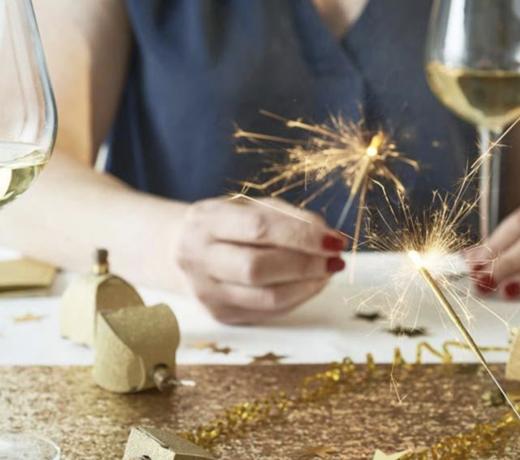 Kerst goud feestartikelen, versiering en decoratie