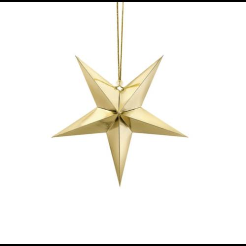 Metallic goud ster