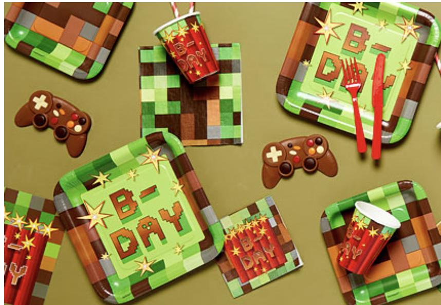 Minecraft verjaardag