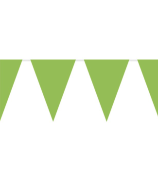 lime groen vlaggetjes