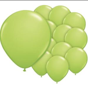 Lime groen ballonnen mini