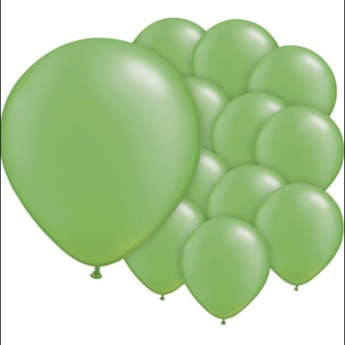 lime groen ballonnen mat mini