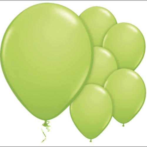 Lime groen ballonnen M