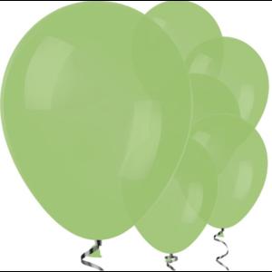 Lime groen ballonnen L