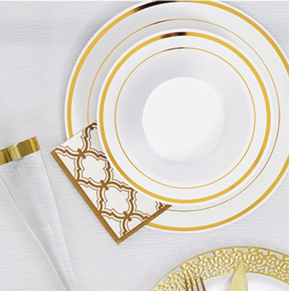 Luxe gouden borden