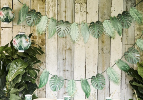 Palmboom feestartikelen