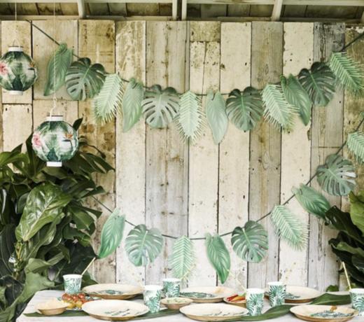 Palmboom feestartikelen & versiering