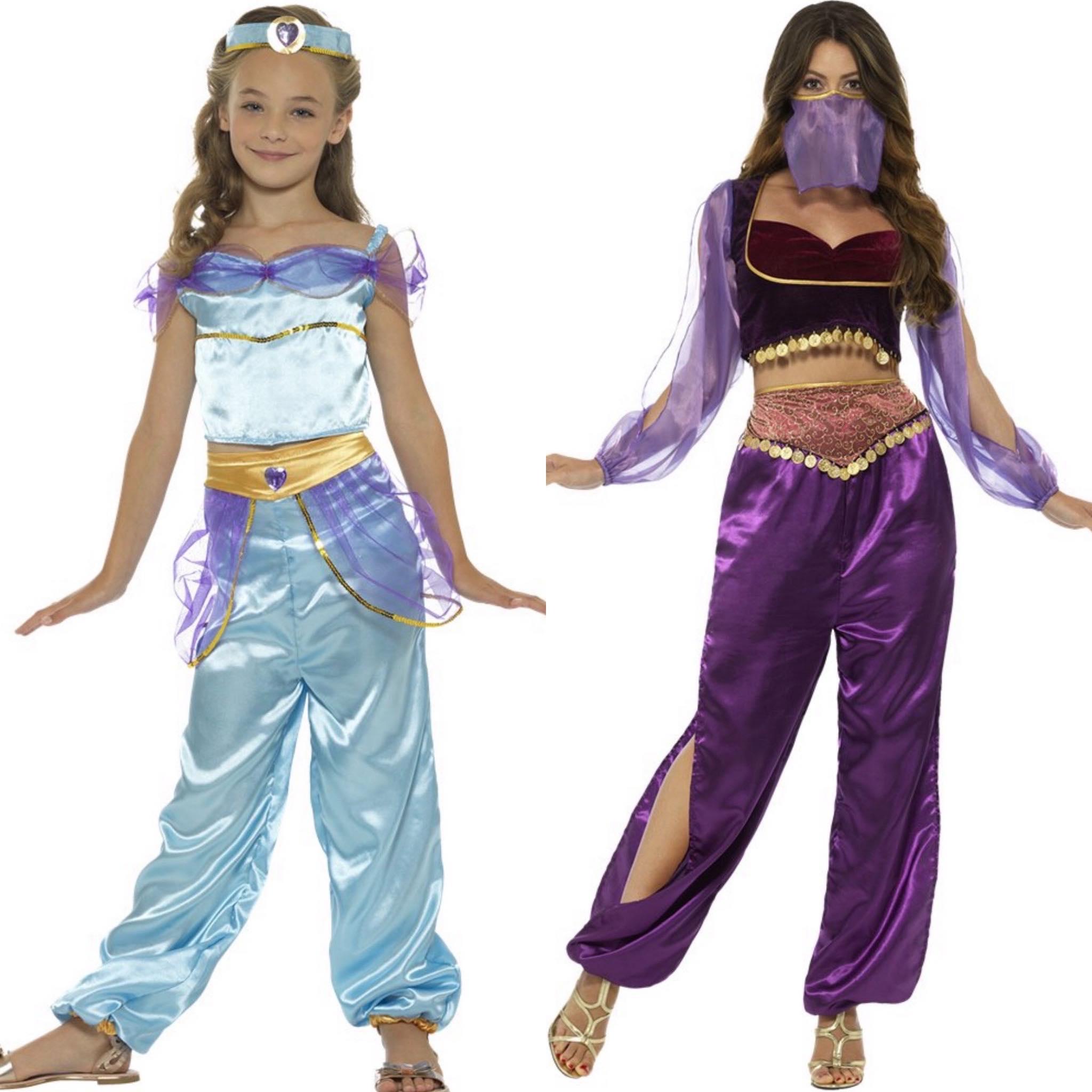 Aribian Princess moeder en dochter kostuum