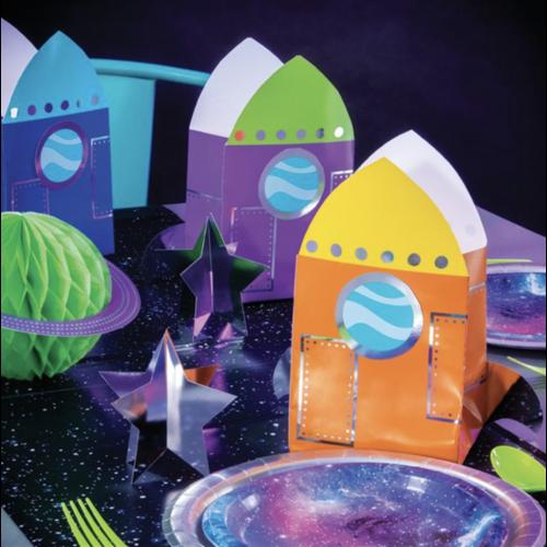 Ruimtevaart uitdeel doosjes
