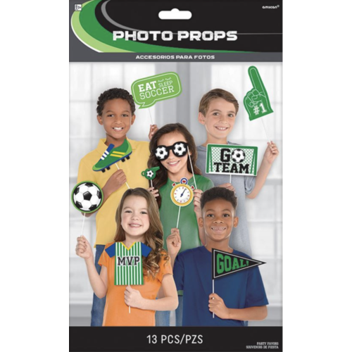 Voetbal foto booth