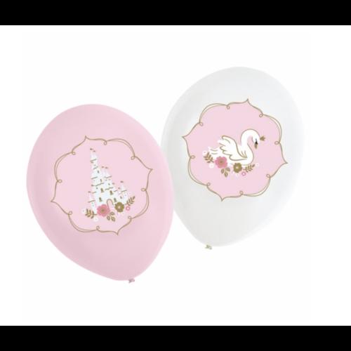 Zwaan prinses ballonnen